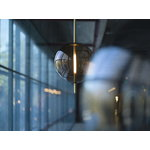 Pholc Lampada a sospensione Kandinsky 30, marrone affumicato