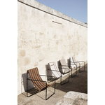 Ferm Living Desert lounge chair, black - soil