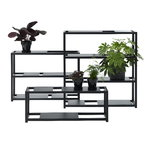 Adea The Botanic Shelf, black