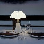 Martinelli Luce Minipipistrello pöytävalaisin, johdoton, valkoinen