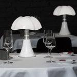 Martinelli Luce Minipipistrello table lamp, cordless, white