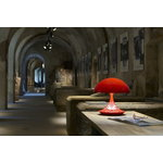 Martinelli Luce Cobra table lamp, 50 years, red