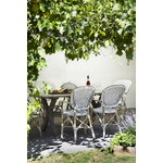 Sika-Design Isabell armchair, white