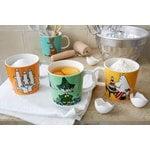 Arabia Moomin mug, Hattifatteners, orange