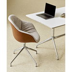 Hay About A Chair AAC121 Soft Duo, alum.-Steelcut Trio226-nahka