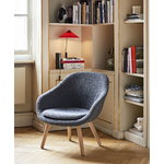 Hay About A Lounge Chair AAL82, lacquered oak - Hallingdal 130
