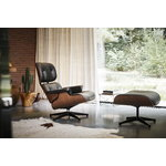 Vitra Eames Lounge Chair, classic size, American cherry - black leathe