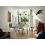 Vitra HAL Wood chair, oak - white