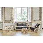 Sika-Design Franco Albini Exterior ottoman, small, natural
