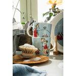 Arabia Moomin mug, Fillyjonk, grey