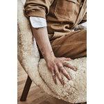 &Tradition Little Petra nojatuoli, Moonlight lampaantalja - pähkinä
