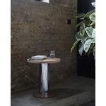 &Tradition Mezcla JH19 sivupöytä, tammi - kromi - savi