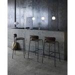 &Tradition Pavilion AV7 / AV9 bar stool, lacquered walnut