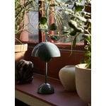 &Tradition Flowerpot VP9 johdoton pöytävalaisin, tummanvihreä