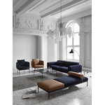Adea Bonnet Club lounge chair, Opera