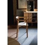 Ariake Holm chair, oak - fabric