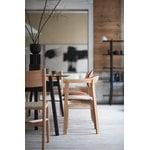 Ariake Holm chair, oak - leather