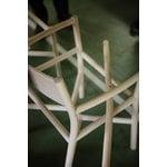 Ariake Ariake tuoli käsijnojilla, tammi - tekstiilipunos