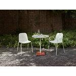 Hay Terrazzo table, 70 cm, grey