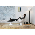 Vitra Eames LTR Occasional table, black - chrome