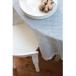 Artek Tessuto di cotone Rivi, 150 x 300 cm, bianco-blu