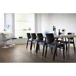 Artek Domus chair, stained black