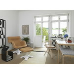 Artek Rival chair KG002, birch/leather