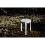 Artek Aalto stool 60, lacquered white