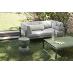 Fermob Bellevie 2-seater sofa, cactus - flannel grey