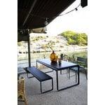 Fermob Luxembourg armchair, liquorice