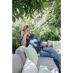 Fermob Bellevie 3-istuttava sohva, cactus - flannel grey
