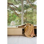 Røros Tweed Bislett viltti, 200 x 135 cm, persikka - pistaasi