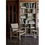 Fredericia Canvas chair, soaped oak - natural canvas