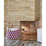Hay Bead kori kahvoilla, 40 cm, sininen - punainen - valkoinen