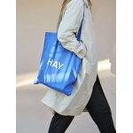 HAY Blue tote bag, white logo
