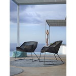 Cane-line Breeze lounge chair, black