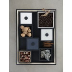 By Lassen Frame 10 box, black stained ash