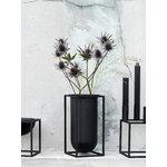 By Lassen Kubus Lolo vase, black