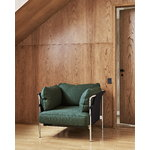 Hay Can nojatuoli, Steelcut 975 - musta canvas - mustat jalat