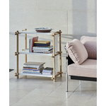 Hay Woody Column shelf, low, white