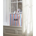 Hay Candy Stripe shopper M, blue - orange
