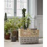 Hay Colour crate, L, light grey