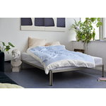 Hay Connect bed, warm grey