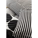 Marimekko Tasaraita pillowcase, black-white