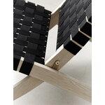Carl Hansen & Søn MG501 Cuba lounge chair, oiled oak - black webbing