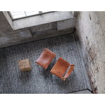 Nikari December chair, oak - cognac leather