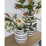 Kähler Omaggio vase, medium, granite grey