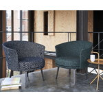 HAY Dorso lounge chair, black - Olavi 16