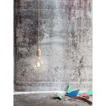 Muuto E27 LED socket lamp, nude, without canopy