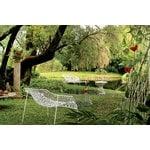 Emu Heaven sohvapöytä 50 cm, mattavalkoinen, lasikansi